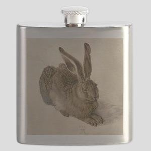 Hare by Albrecht Durer Flask