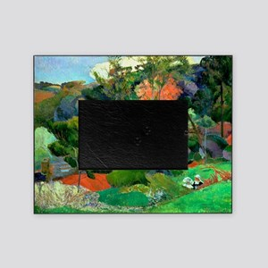 Landscape at Pont Aven by Paul Gaugu Picture Frame