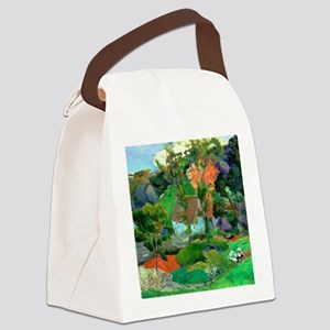 Landscape at Pont Aven by Paul Ga Canvas Lunch Bag