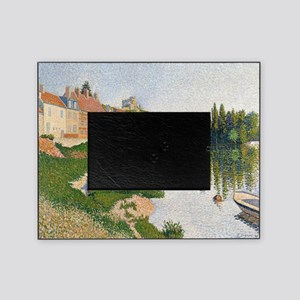 The River Bank, Petit-Andely by Paul Picture Frame