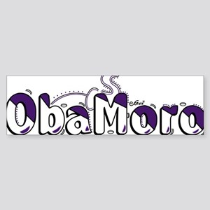 Obamoro Sticker (Bumper)