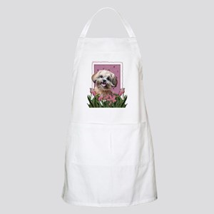 Pink_Tulips_ShihPoo_Maggie Apron
