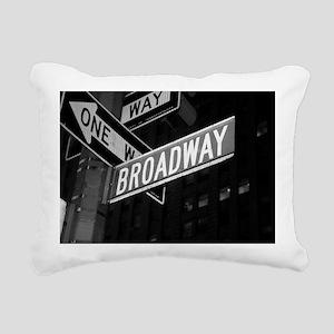 broadway4 Rectangular Canvas Pillow