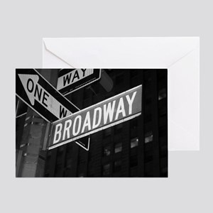 broadway4 Greeting Card