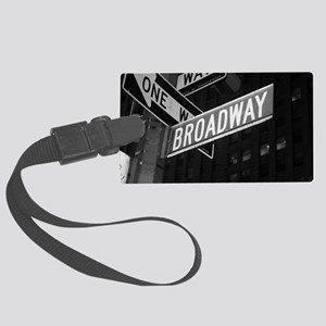 broadway4 Large Luggage Tag