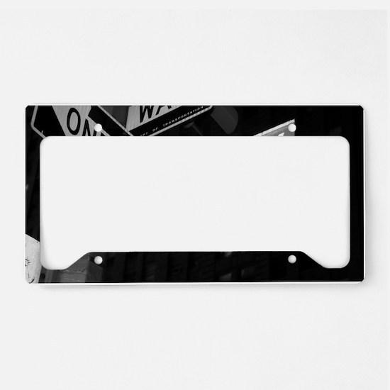 broadway4 License Plate Holder