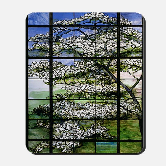 Tiffany Dogwood 78 Mousepad