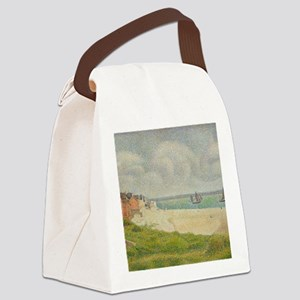 Le Crotoy looking Upstream by Geo Canvas Lunch Bag