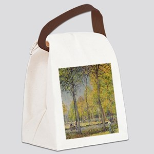 The Bois de Boulogne by Alfred Si Canvas Lunch Bag