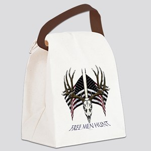 Free men hunt Canvas Lunch Bag