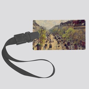 Boulevard Montmartre, Spring by  Large Luggage Tag