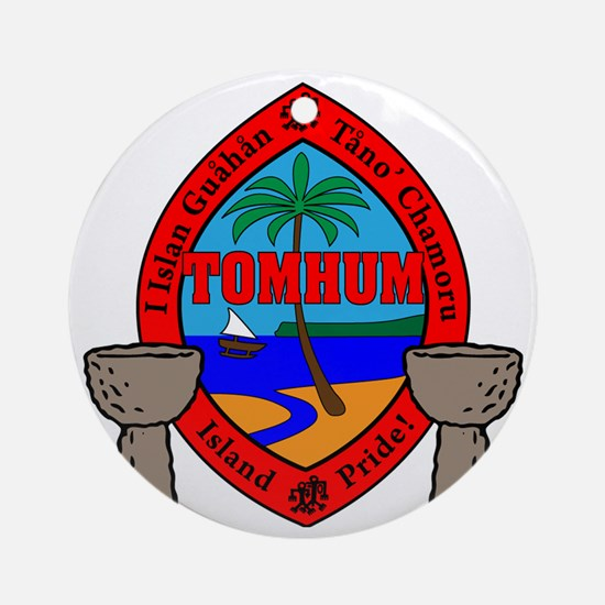 Tomhum Round Ornament