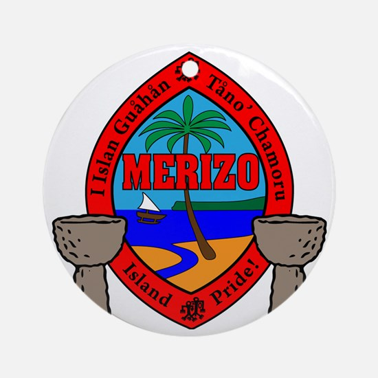 Merizo Round Ornament