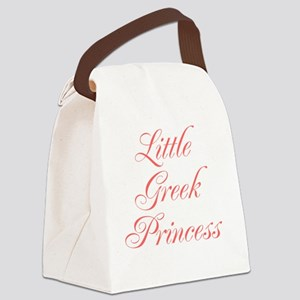 Little Greek Princess Canvas Lunch Bag