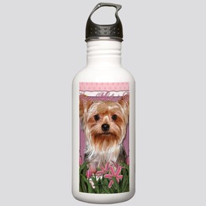 Mothers_Day_Pink_Tulip Stainless Water Bottle 1.0L