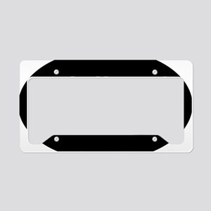 got-discs-oval-black License Plate Holder