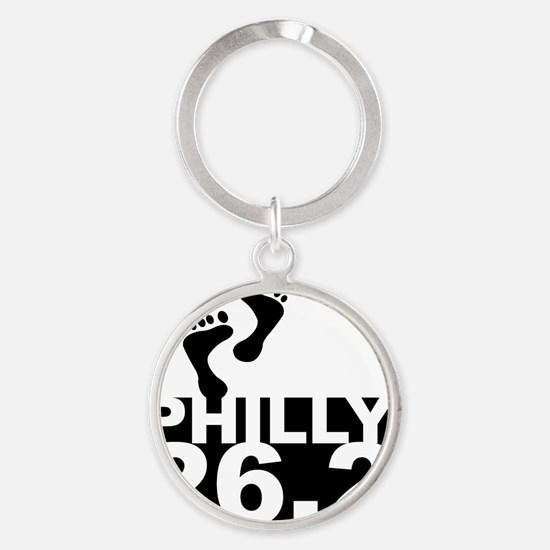 philly26 Round Keychain