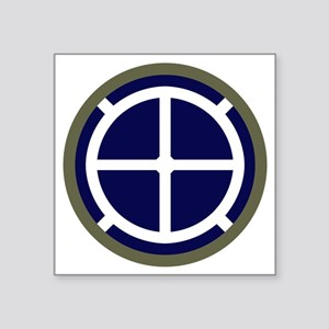"35th Infantry Division Square Sticker 3"" x 3"""