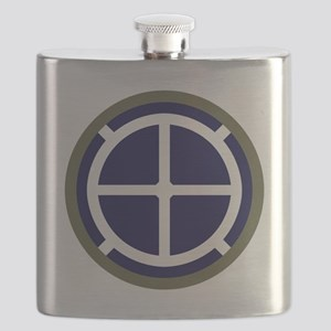 35th Infantry Division Flask