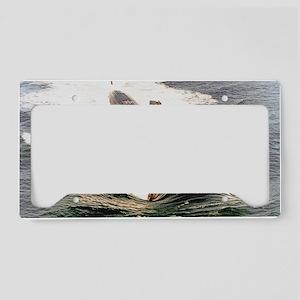 augusta mini poster License Plate Holder