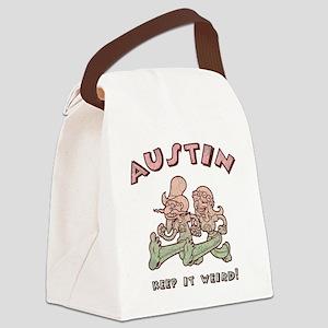 austin-weird-1-T Canvas Lunch Bag