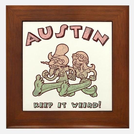 austin-weird-1-T Framed Tile