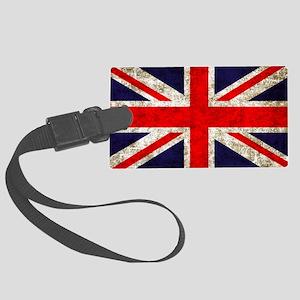 UK Flag Large Luggage Tag