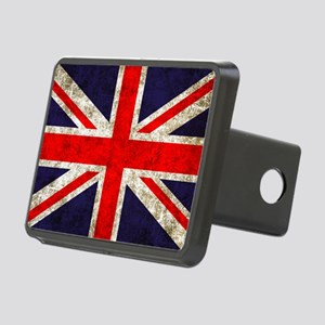 UK Flag Rectangular Hitch Cover