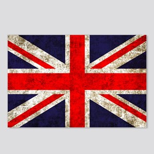 UK Flag Postcards (Package of 8)