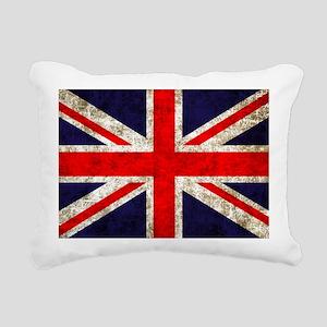 UK Flag Rectangular Canvas Pillow