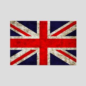 UK Flag Rectangle Magnet