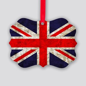 UK Flag Picture Ornament