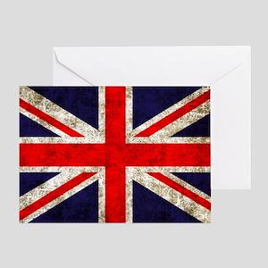 UK Flag Greeting Card