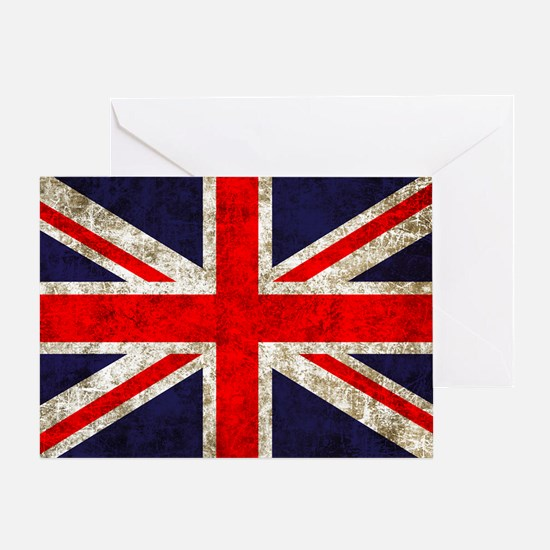 UK Flag Greeting Card
