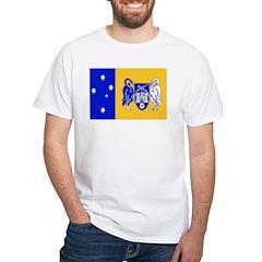 Australia Capital Territory White T-Shirt