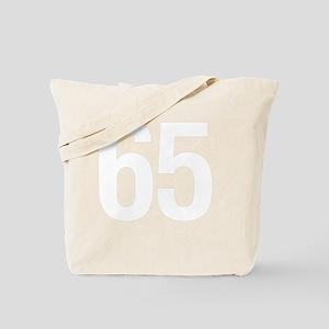 helvetica_65white Tote Bag