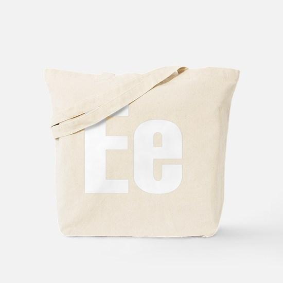 helvetica_ee_white Tote Bag