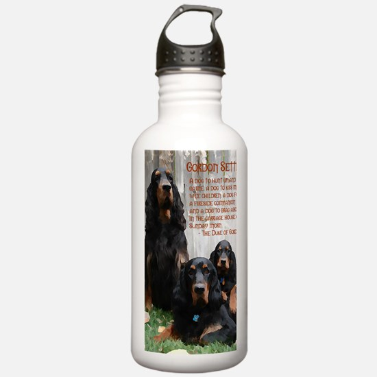 BlurTrainCrewMiniPoste Water Bottle