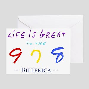 billerica Greeting Card