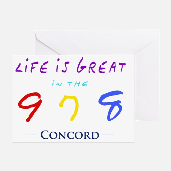 concord Greeting Card