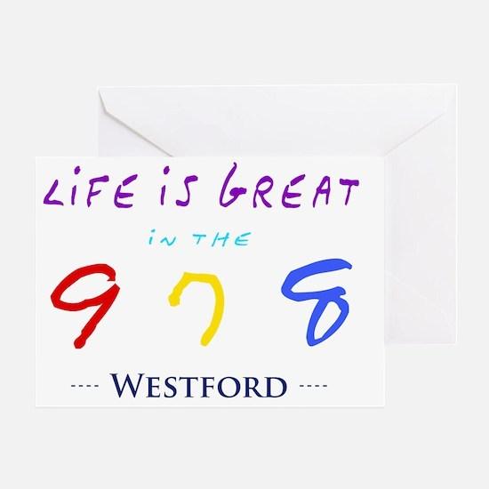 westford Greeting Card