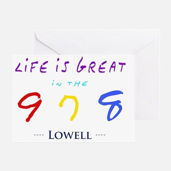 lowell Greeting Card