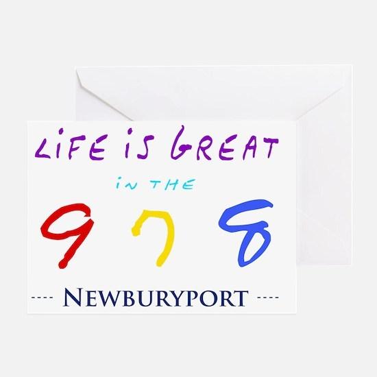 newburyport Greeting Card