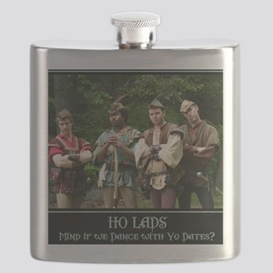 Ho Lads Poster Med Flask