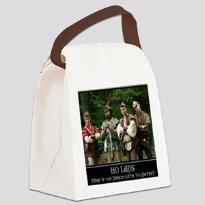 Ho Lads Poster Med Canvas Lunch Bag
