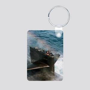 baltimore large poster Aluminum Photo Keychain
