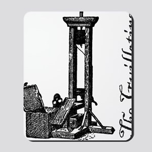 The Guillotine Mousepad