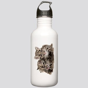 Clouded Leopard Cubs78 Stainless Water Bottle 1.0L