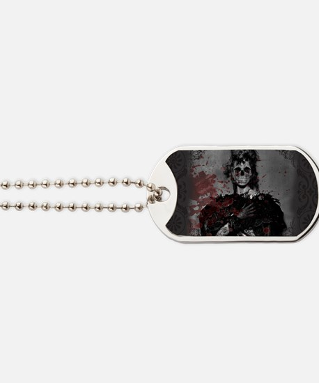 Beautiful Zombie Dog Tags