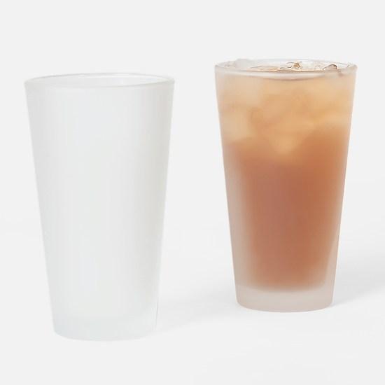 helvetica_pp_white Drinking Glass